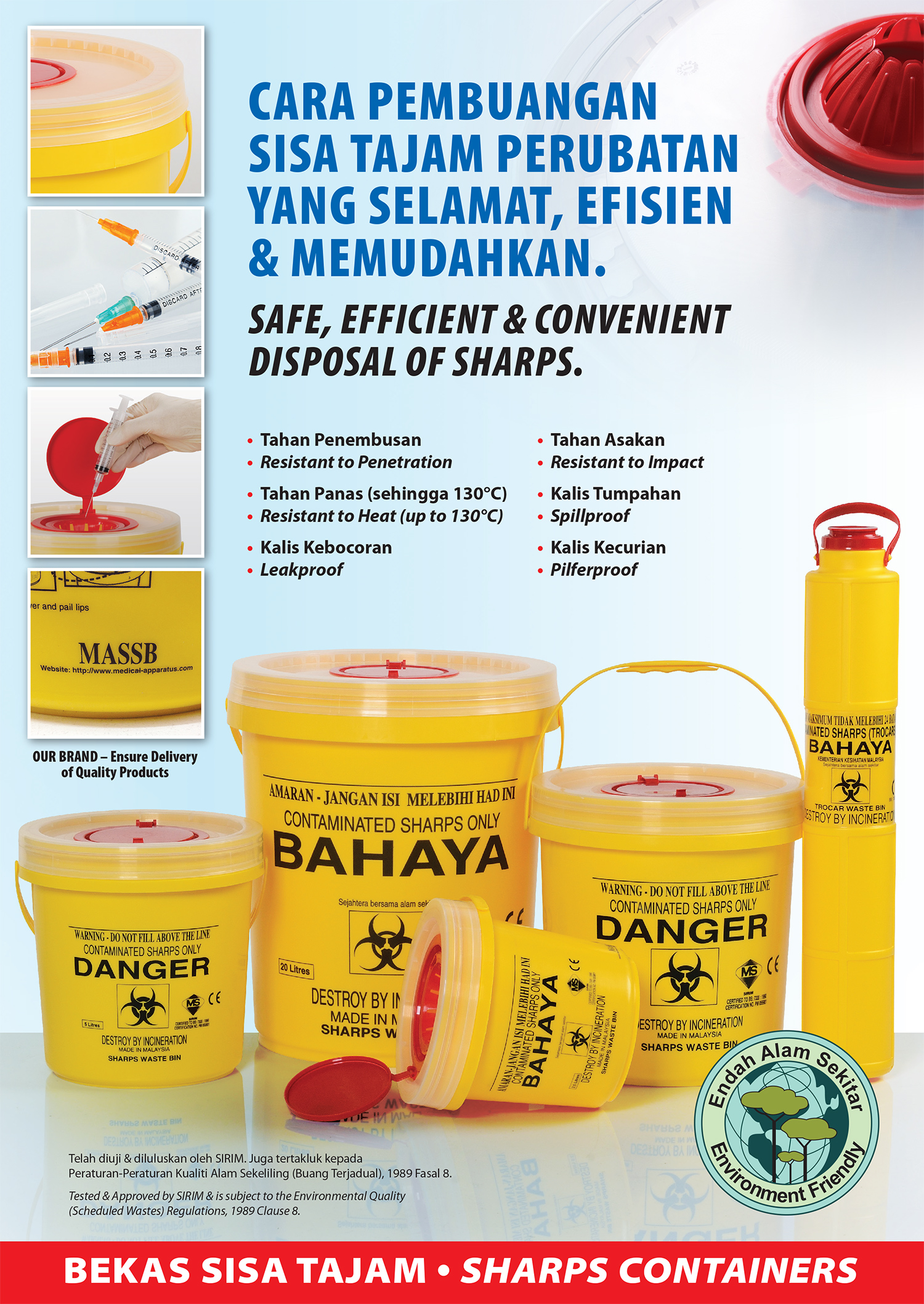 Disposal of Sharps
